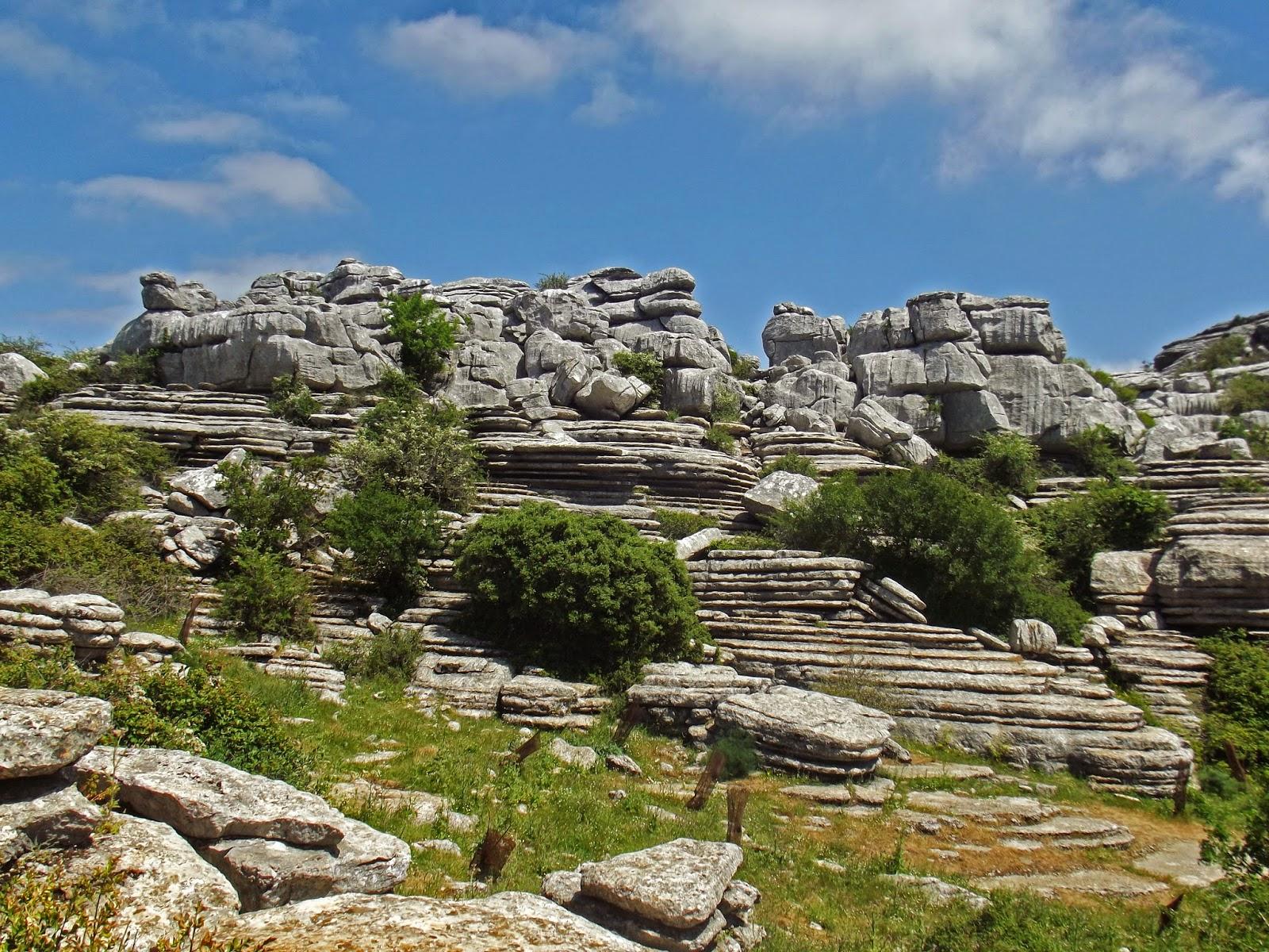 ruta geologica el torcal guadalteba